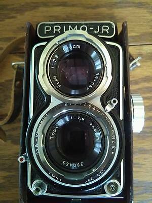 Primo Jr TLR camera MINT photographer tested Rolleiflex Yashica mat