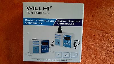 WILLHI WH1436A 110V - 240V Digital Temperature Controller Thermostat Switch