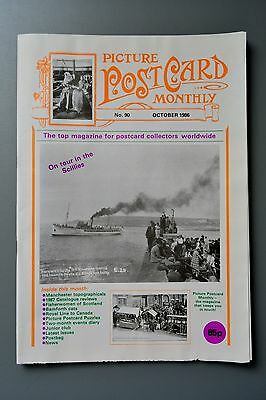 R&L Mag-Picture Postcard Monthly 1986 Oct Scottish Fisherwomen/Royal Line Canada