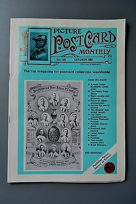 R&L Mag-Picture Postcard Monthly 1987 Oct EW Savory/Bamforth Arnold Taylor