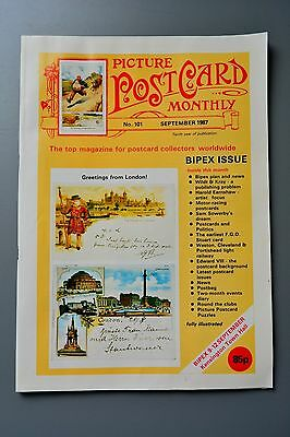 R&L Mag-Picture Postcard Monthly 1987 Sept Wildt & Kray/Raphael Tuck/H Earnshaw