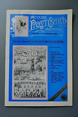 R&L Mag-Picture Postcard Monthly 1988 Feb Hands Across the Sea/Australia Royal