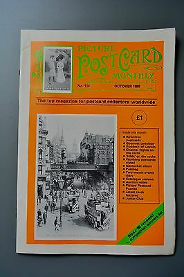 R&L Mag: Picture Postcard Monthly 1988 Oct Early Aviation/Food & Drink