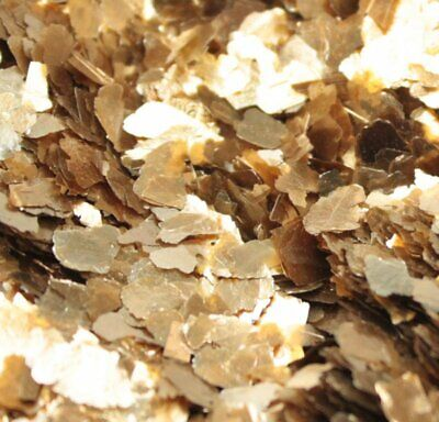 Mica Flakes - Gold - Large Natural Mica  - The Professionals Choice - 311-4364
