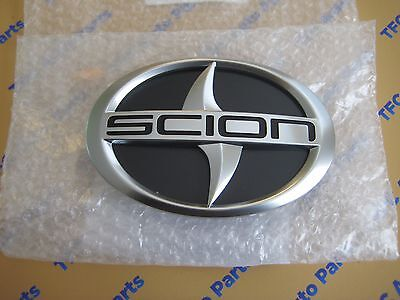 Scion TC Front Grille Emblem Genuine OEM Toyota-Scion New 2011-2014 TC
