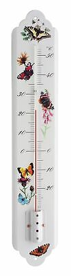 NEW Butterfly Prints Indoor/Outdoor Thermometer
