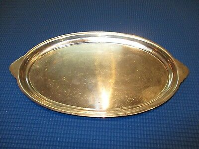 Vintage S. Kirk Sterling Silver Oval Tray