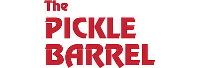 $100 for The Pickle Barrel Restaurants in Toronto for Food and Drinks