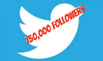 150 000 Worldwide Twitter-Follower PROMOTION | SEO | 60 DAY REFILL!