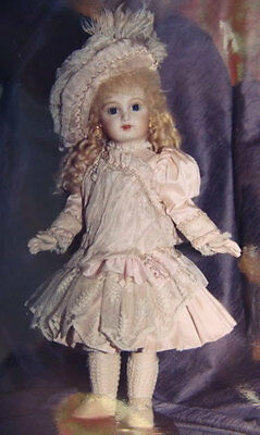 "14""  French Doll Dress Pattern Antique Style ~ Charis"