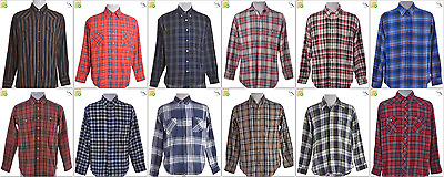 JOB LOT OF 31 VINTAGE FLANNEL SHIRTS - Mix of Era's, styles and sizes (22517)
