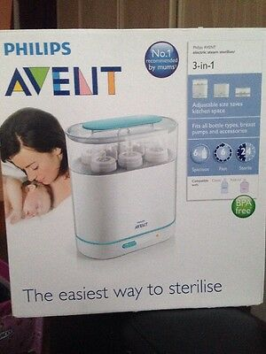 Brand New Avent Electric Steam Steriliser