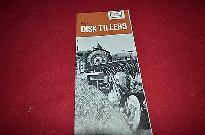 John Deere Rigid Disk Tillers For 1963 Dealers Brochure BWPA