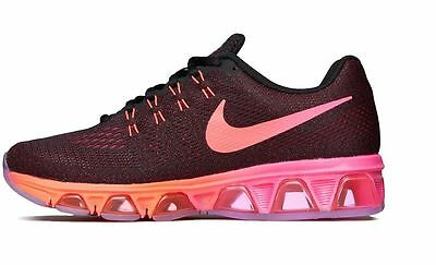 NEW WOMENS NIKE AIR MAX TAILWIND 8 BLACK PINK ORANGE ATHLETIC RUNNING SHOES Sz 8