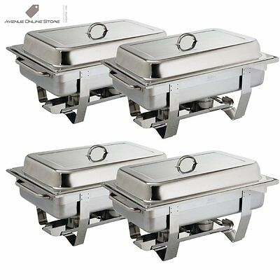 Olympia S299 Milan Chafing, Set Four Pack