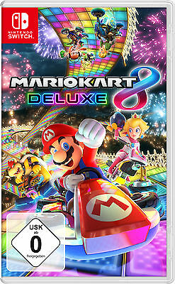 Mario Kart 8 Deluxe | NEU & OVP | Nintendo Switch | deutsche Version |