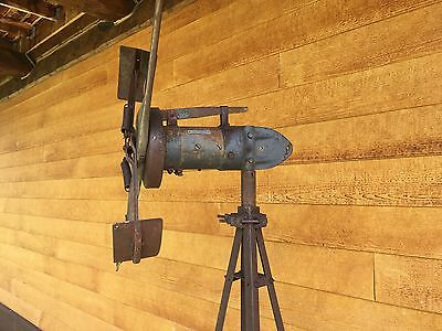 * Rare Antique 6ft Windmill Generator Wincharger Weather Wind Charger *