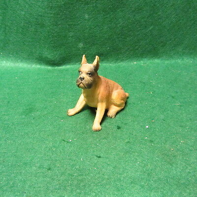 New Ray Novelty 1988 Rubber Plastic Boxer Dog Figure