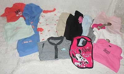 Lot of Baby Girls 9 month Clothes~14 Pieces-Great Condition! Carter's~