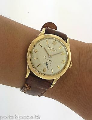 Longines - Wittnauer Gents Watch 6364 N11 10K Gold Filled (Not working) Vintage