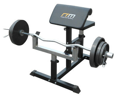 NEW Preacher Curl Bench Weights Commercial Bicep Arm