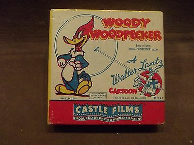 Vintage Woody Woodpecker Castle Film 494 with Box