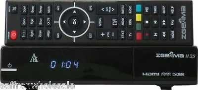 ZGEMMA H2S Twin Tuner Satellite Receiver DVB-S2 + DVB-S2 Dual Core UK STOCK