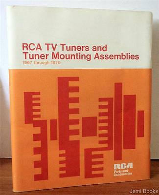 RCA TV Tuners And Tuner Mounting Assemblies 1967-1970 Parts & Accessories VG