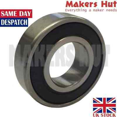 6200 2RS 10mm x 30mm x 9mm Shielded Deep Groove Ball Bearing 6200RS