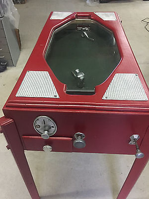 Vintage Ice Hockey Table Game Trade Stimulator Coin Operated