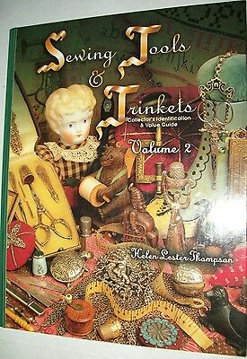 VINTAGE SEWING TOOLS PRICE GUIDE COLLECTOR'S BOOK Thimbles Scissors VOLUME 2
