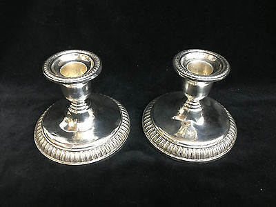 Birks Sterling Silver Candle Sticks