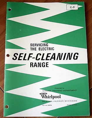 Whirlpool Servicing The Electric Self-Cleaning Range C-3 Training Booklet G+