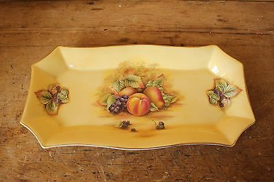 Aynsley Orchard Gold, Long plate or tray.