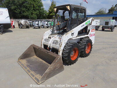 "2007 Bobcat S130 Skid Steer Wheel Loader Aux Hyd 60"" Bucket Kubota bidadoo"