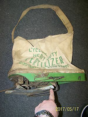 Vintage Heavy Duty Cyclone Seeder Co. Seed Sower Urbana Indiana - No Reserve !!!