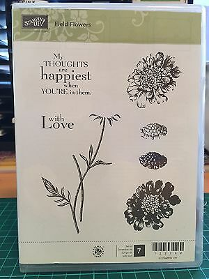 STAMPIN UP Field Flowers Stamp Set