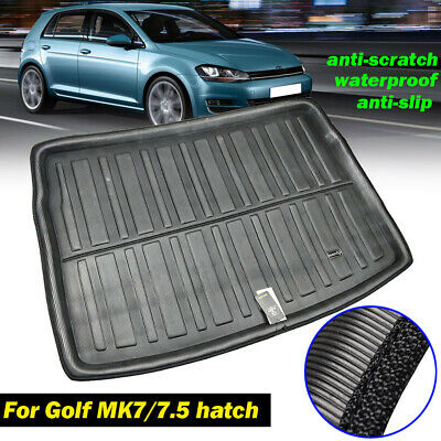 Rear Trunk Boot Liner Cargo Mat Floor Tray For VW Golf/GTI/R MK7 Hatch 2013-2018