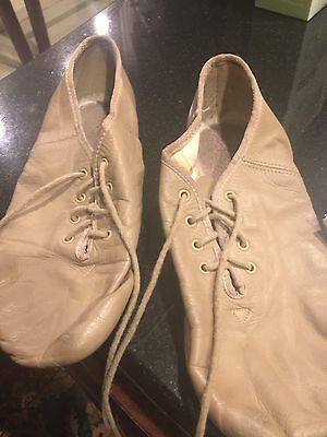 Tan Leather Jazz Shoes