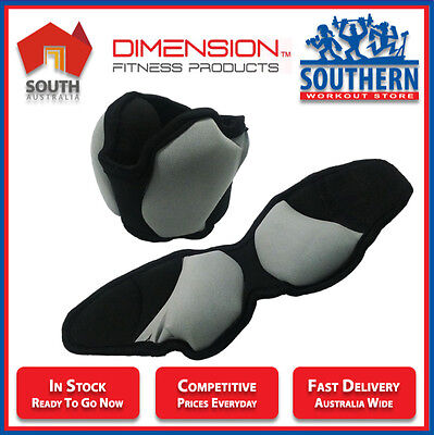 Ankle & Wrist Weights - Dimension Fitness Home Gym Resistance Workout Strength