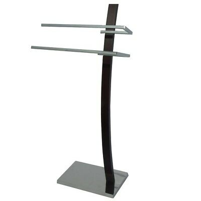NEW Towel Stand Heavy Base Arch Design 2 Arms