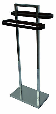 NEW Free Standing Double Towel Stand