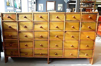 Antique Medicine Apothecary 30 Drawer Chest