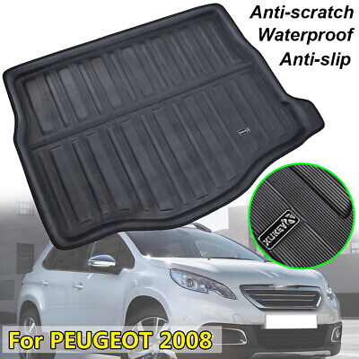 Fit For 2013-2017 Peugeot 2008 Boot Mat Rear Trunk Liner Cargo Tray Floor Carpet