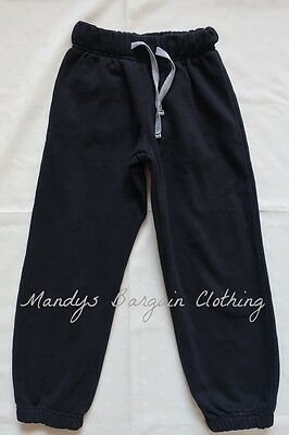Boys TARGET Black Tracksuit Pants / Trackies ~ Size 7 ~ pre owned