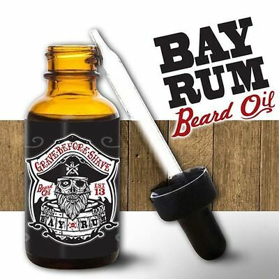 Huile à Barbe - Bay Rum - GRAVE BEFORE SHAVE- 30ml