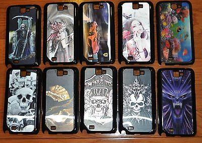 Wholesale 10 pcs Deluxe Vintage HardCover Case for Samsung Galaxy Note 2 N7100-A