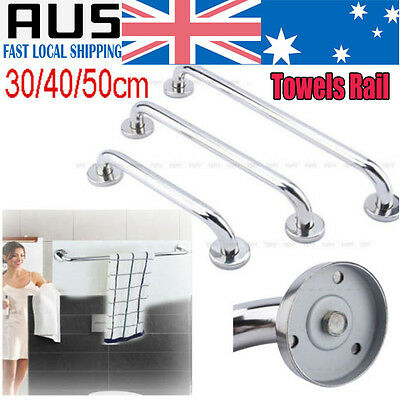 3 Size Bathroom Bath Shower Support Wall Grab Tub Bar Safety Handle Towels Rail