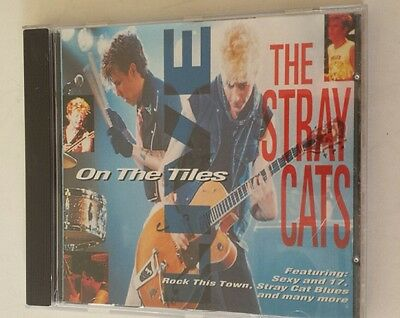The Stray Cats on the Tiles Music CD