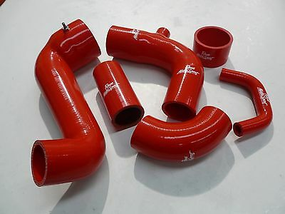 Ford Fiesta RST Silicone Boost Hose Kit. Intercooler & Turbo Hoses. RED